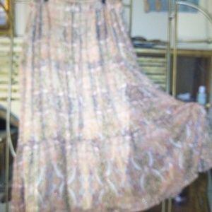 Torrid Boho Hippie Maxi Skirt